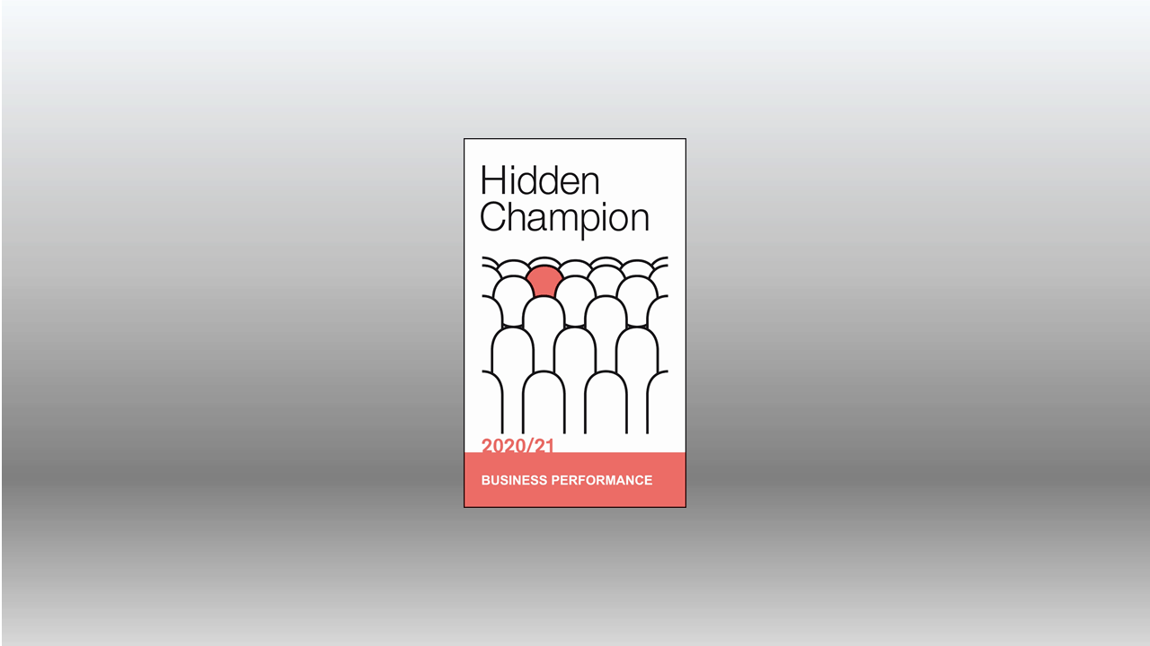 "Hidden Champion 2020 1 - TARGUS ist Hidden Champion 2020: Niemand berät besser zum Thema ""Business Performance"""